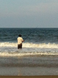 surf fishing (click to enlarge)