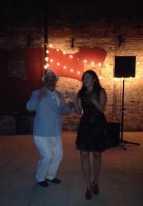 Ira & Janice dancing