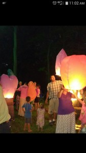 Chinese Candle Lanterns for Abby